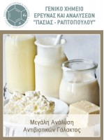 Μεγάλη Ανάλυση Αντιβιοτικών Γάλακτος
